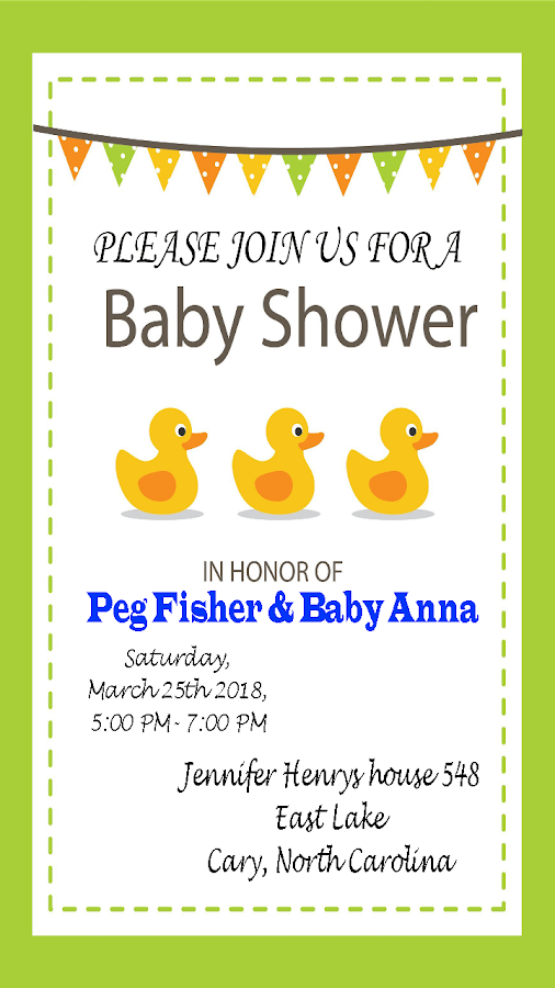 baby shower invitations that can be edited