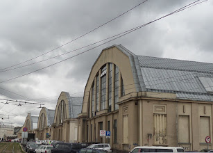 Photo: The Central Market is housed in five zeppelin hangers that date to the 1930's.
