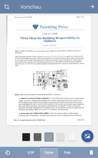 TurboScan: Scanne Dokumente und Belege in PDF screenshot