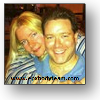 Photo: EPX Body team member, authentic testimonial from Doug and Erica