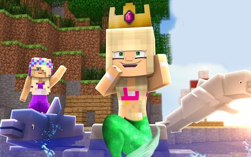 Mermaid Skins for Minecraft PE Free - náhled