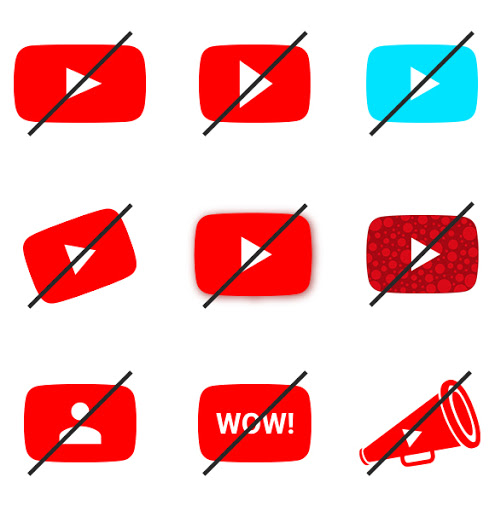 Common mistakes when implementing MeTube icons