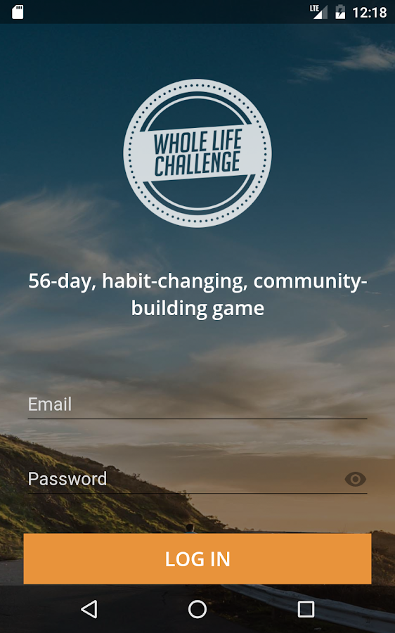 Whole Life Challenge- screenshot