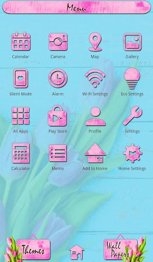 Flower Wallpaper Pink Tulips 1.0.0 Windows u7528 2