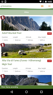 South Tyrol/Südtirol Trekking- screenshot thumbnail