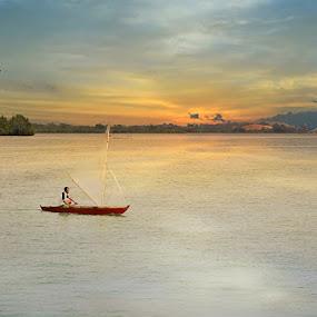 Sailing by Rizki Mayendra - Transportation Boats