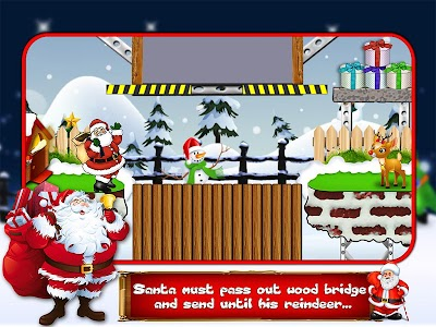 Santa's Run screenshot 0