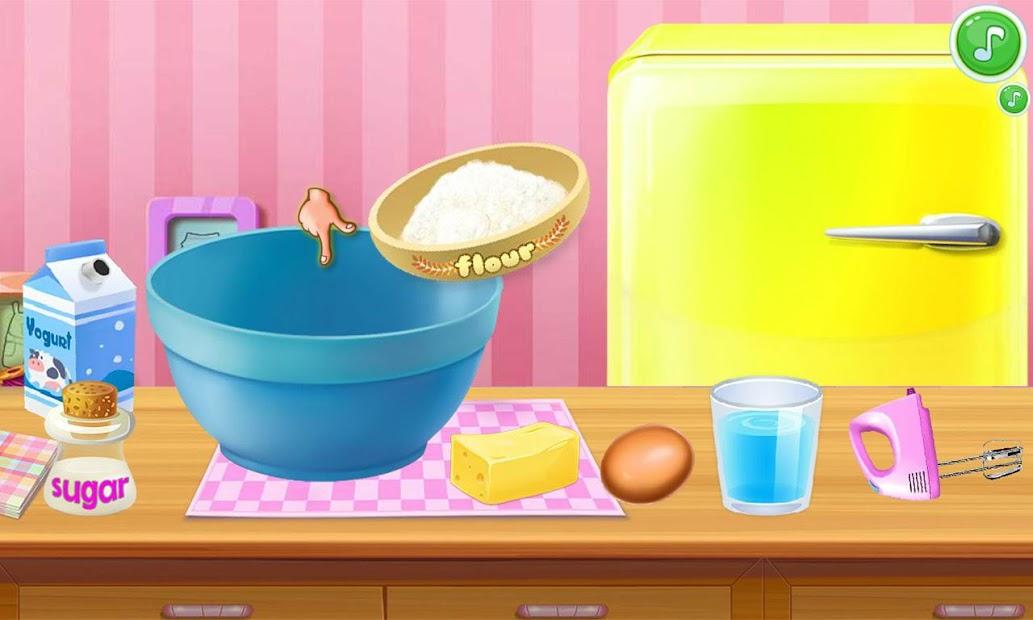 Cake shop paradise Android App Screenshot