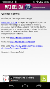 Música Cristiana en MP3- screenshot thumbnail