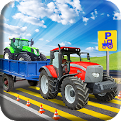 US Tractor Parking 3D - Simulation Game 2017