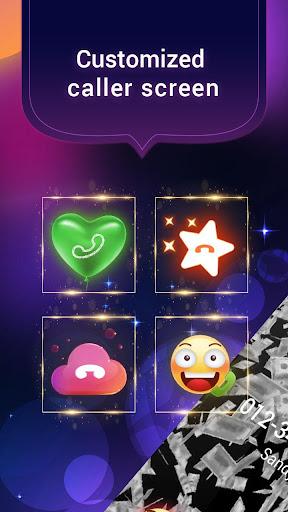 Screenshot for Money Rain Caller Screen in United States Play Store