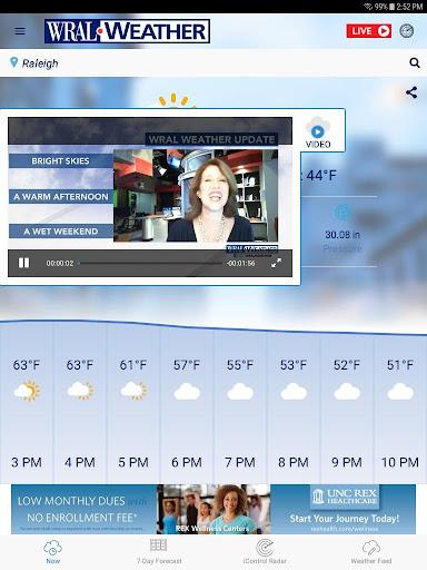 WRAL Weather screenshot 10