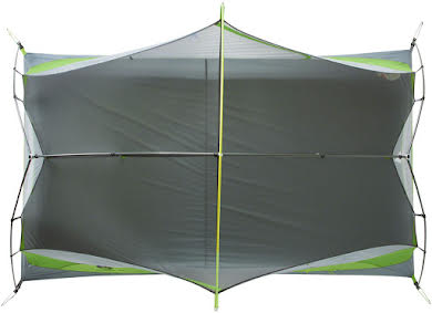 NEMO Dagger 2P Shelter, Green/Gray, 2-person alternate image 4