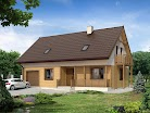 projekt domu Wiśnia dr-ST