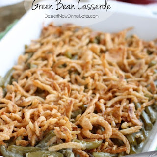 NO CREAM SOUP Green Bean Casserole