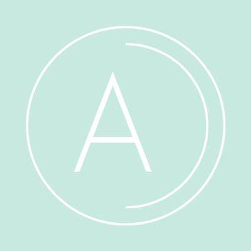 Aqua Spa Wellness - Etsy Shop Icon template