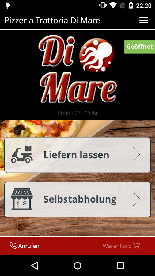 Pizzeria Trattoria Di Mare- screenshot