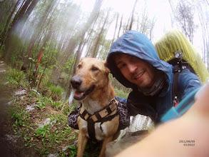 Photo: Pierwszy deszczowy dzień wyprawy po Wschodnich szlakach Kampinosu