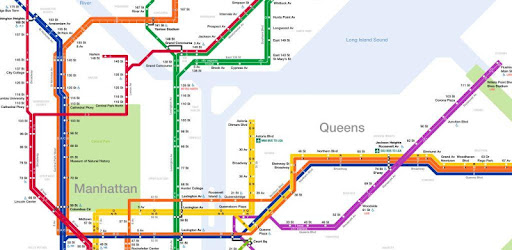 Subway Map From 88 St To 59th Street.Nyc Subway Map Apps On Google Play