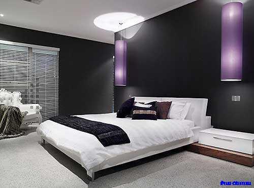 ベッドルームモデル設計のアイデア