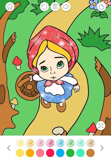 Glitter Coloring Book for Kids: Kids Games  screenshots 6