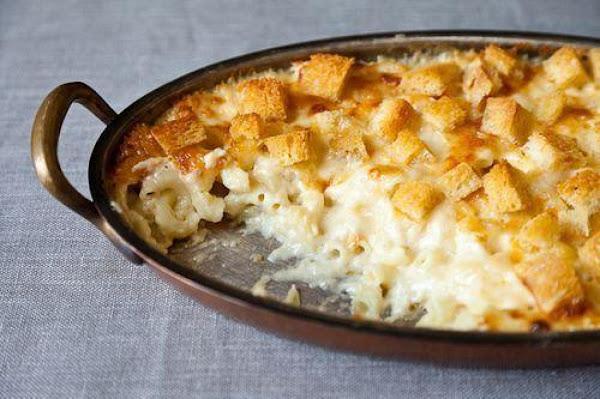 White Macaroni & Cheese Recipe