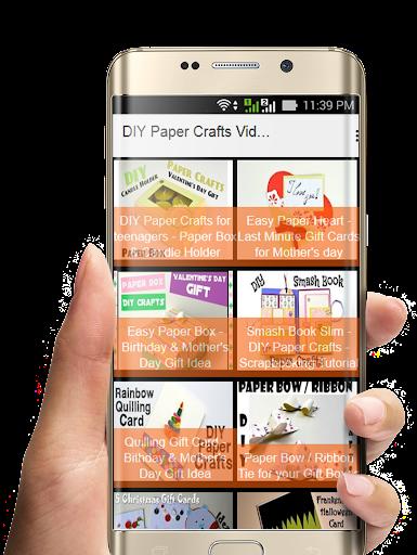 Diy Paper Crafts Videos Apk Download Apkpure Co