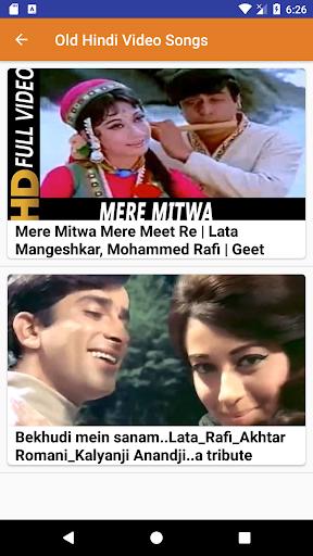 Old Hindi Songs Old Hindi Video Songs Apk Download Apkpure Co