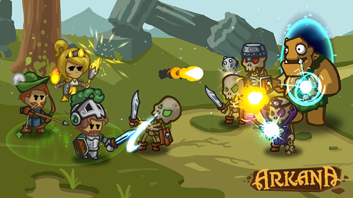 Arkana (online RPG/MOBA PvP) 0.4.3b screenshots 1