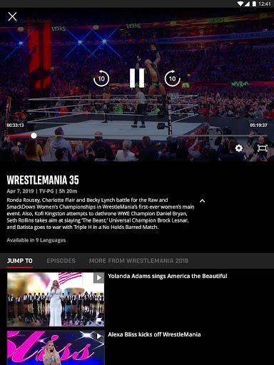 WWE screenshot 8