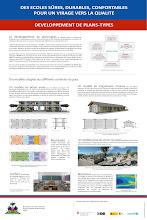 Photo: Poster sur le développement des plans-types d'école