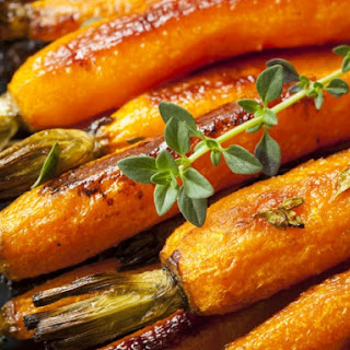 Oven Orange-Glazed Carrots