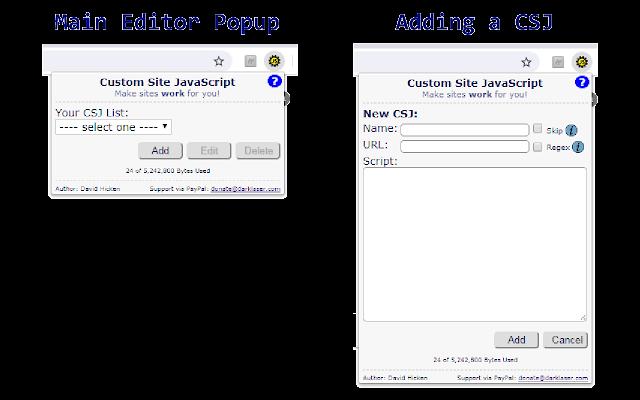 Custom Site JS