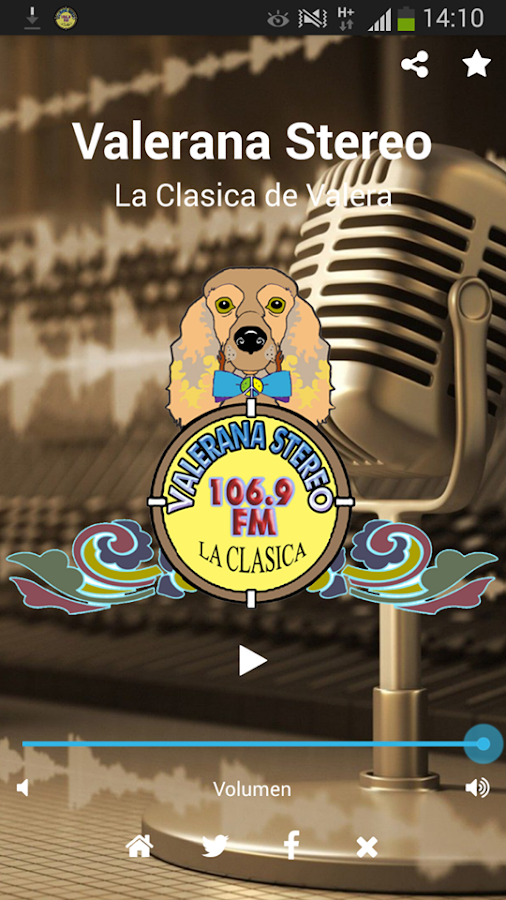 Valerana Stereo 106.9- screenshot