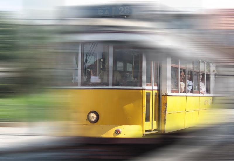 Storico Tram 28 di LISBONA di Andrea Tognini