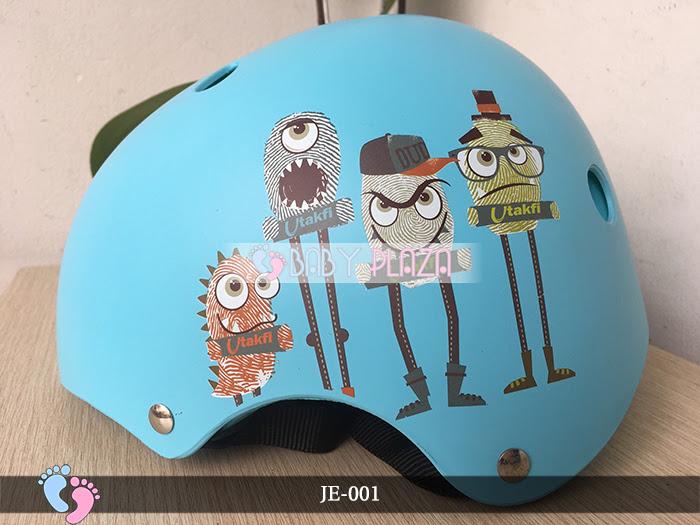 Mũ bảo hiểm trẻ em cao cấp Utakfi JE-001 6