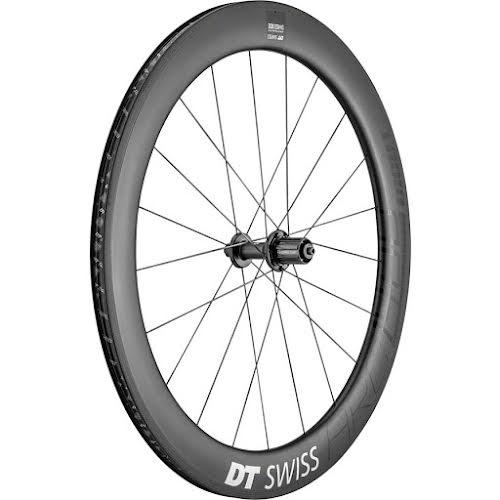 DT Swiss ARC 1400 DiCut 62 Rear Wheel -  700, QR X 130mm, HG 11, Black