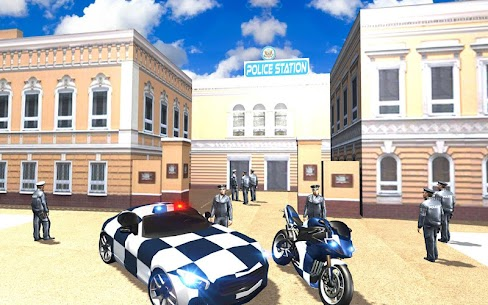 Extreme police GT car driving simulator 6