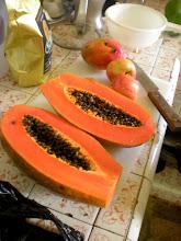 Photo: A healthy pre-rappelling breakfast