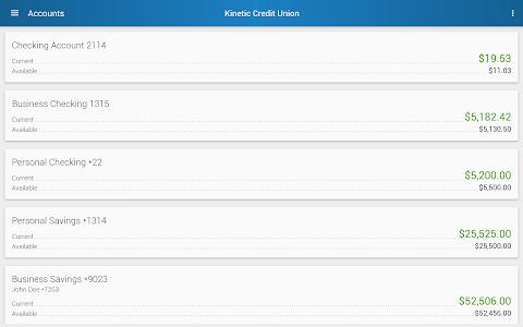 Kinetic Credit Union screenshot 5