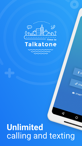 Talkatone: Free Texts, Calls & Phone Number 6.4.12 Screenshots 1