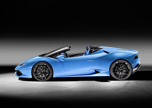 The introduction of the Lamborghini Huracán LP 610-4 Spyder has been key to the company's record sales results.