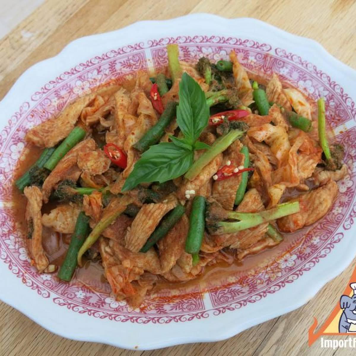 Thai Chicken and Veggies, Gai Pad Prik