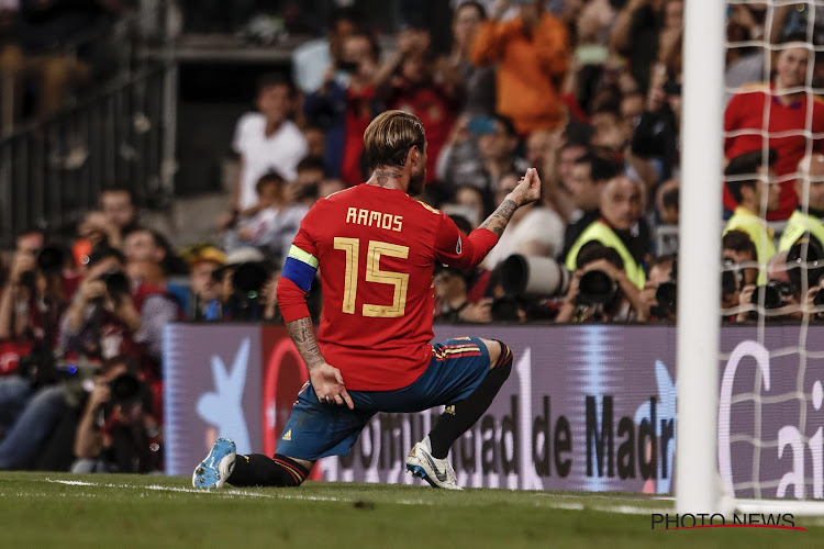 L'étonnante stat de Sergio Ramos avec l'Espagne