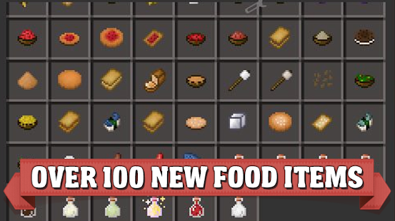 Food mods for Minecraft PE - náhled