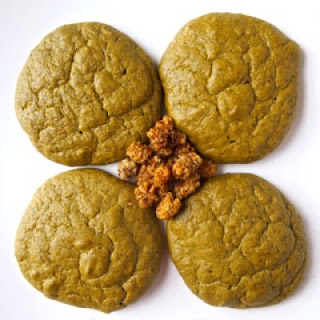 Green Tea Mango Protein Cookies
