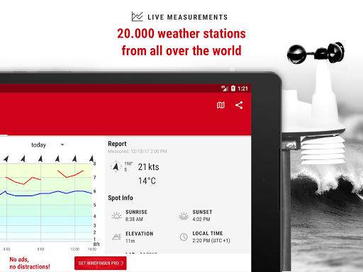 Windfinder - weather & wind forecast 3.15.0 screenshots 9