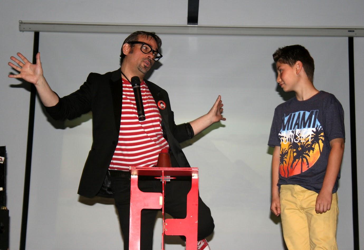 show de magia familiar en Almería 2015