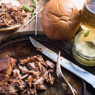 Date Night Apple Butter Pulled Pork In The Slow Cooker