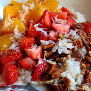 Breakfast Rice Bowl with Chai Spiced Milk